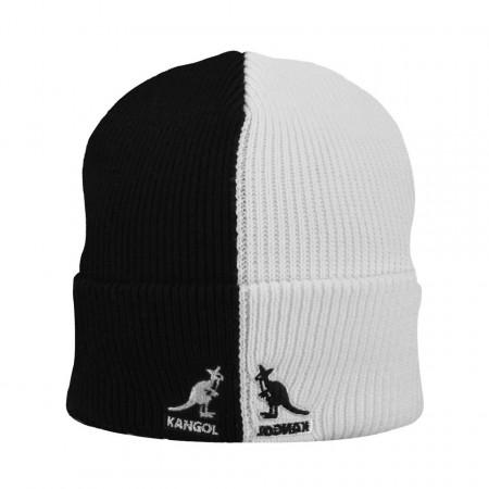 Kangol-caciula-2-tone-alb-negru