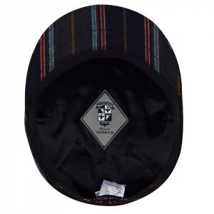 Kangol-basca-neagra-tweed-milano-4