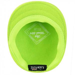 Kangol-Basca-verde-neon-Wool-504-F