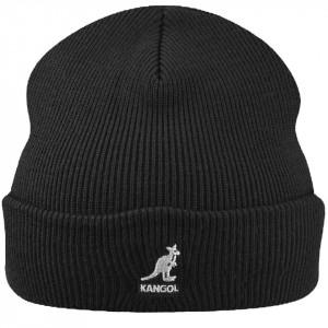 Kangol, Caciula acrylic pullon negru-alb