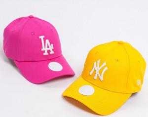 New Era-sapca-ajustabila-baseball-esessential-LA-roz-2