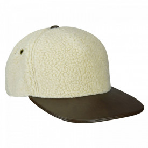 Kangol-sapca-alba-faux-sherpa-links-2