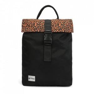 Mi-Pac, Rucsac negru day pack nylon leopard, 20L