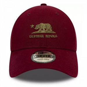 New-Era-sapca-ajustabila-9forty-california-republic-rosu-2