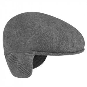 Basca-Kangol-Wool-504-Earlap-Gri-Inchis-5