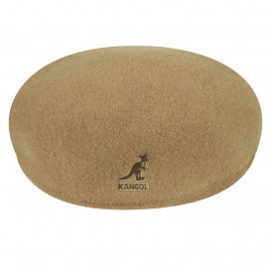 Kangol-Basca-maro-camel-Wool-504-3