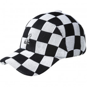 Kangol, Sapca neagra checkered tropic adj