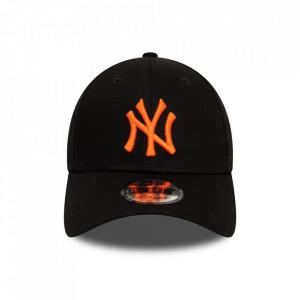New-Era-sapca-ajustabila-baseball-NY-Negru-Portocaliu-2