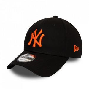 New Era, Sapca ajustabila baseball NY, Negru/ Portocaliu