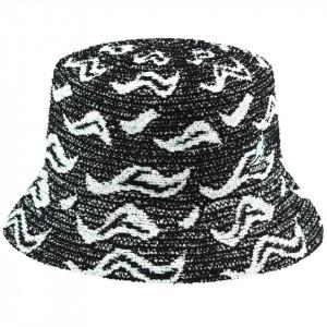 Palarie Kangol Wave Camo Bucket Negru 2