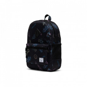 Herschel-rucsac-pentru-copii-heritage-asphalt-chalk-negru-16L-3