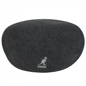 Kangol-Basca-gri-inchis-Wool-504-C