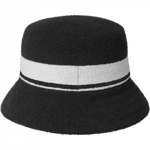 Kangol-palarie-bermuda-stripe-bucket-negru-2