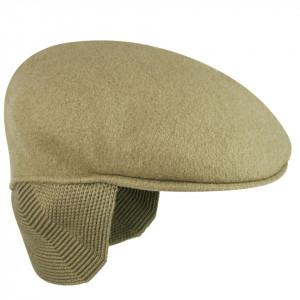 Basca-Kangol-Wool-504-Earlap-Taupe-2