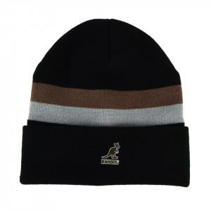 Kangol-caciula-neagra-dual-stripe-2