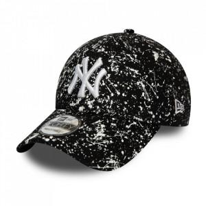 New Era, Sapca ajustabila baseball NY painted, Negru
