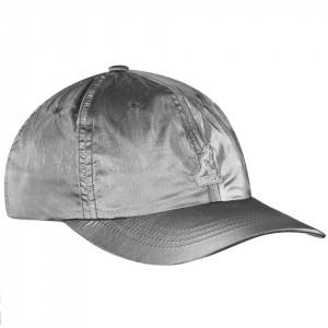 Kangol-sapca-argintie-iridescent-baseball-4