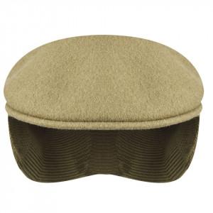 Basca-Kangol-Wool-504-Earlap-Taupe-3