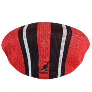Kangol-basca-rosu-vented-stripe-504-3
