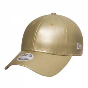 New Era, Sapca ajustabila baseball metallic gold