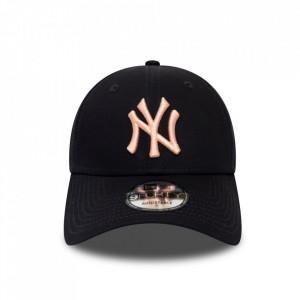 New-Era-sapca-ajustabila-baseball-NY-bleumarin-roz-2