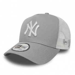 New Era, Sapca cu capsa pe partea din spate si logo New York Yankees, Gri