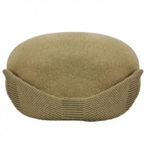 Basca-Kangol-Wool-504-Earlap-Taupe-5