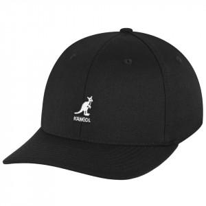 Kangol, Sapca neagra wool flexfit baseball