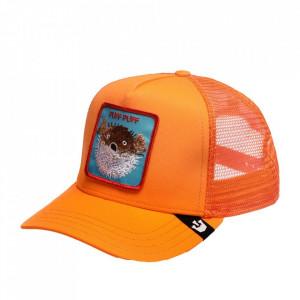 Goorin Brothers, Sapca portocalie trucker puff