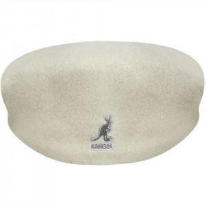 Kangol-Basca-alba-Wool-504-d