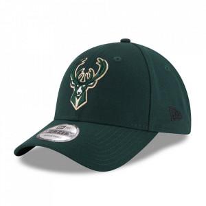 New Era, Sapca ajustabila baseball Milwaukee Bucks, Verde