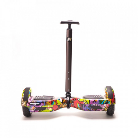 Hoverboard Stick FreeWheel Assistant 120 Telescopic Gri