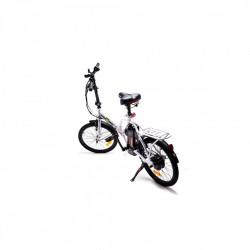 Bicicleta Electrica FreeWheel EBike Urban - Alb Autonomie 20-25km Viteza 25km/h Motor 250W Brushless