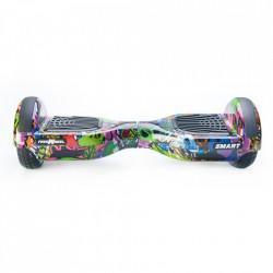 Scooter Electric (Hoverboard) Freewheel SMART - Graffiti Mov Autonomie 20 km Viteza 16 km/h Motor 2 x 350W Brushless