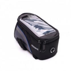 Husa telefon universala impermeabila negru/albastru