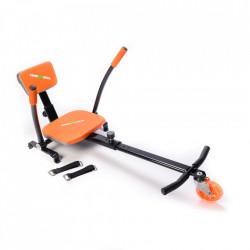 Freewheel kart kit portocaliu pentru scootere electrice (hoverboard) cu rotile de 6,5 inch