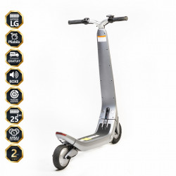 Trotineta Electrica Freewheel Rider Trends - Argintiu Autonomie 20-30 km Viteza 25 km/h Motor 250W Brushless