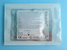 Poze Compresa hemostatica (bumbac 100%) 5x7.5 cm, Equicel