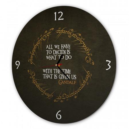 Ceas pentru fani, Lord of the rings, 40cm