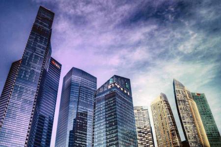 Tablou Singapore, 70x50cm