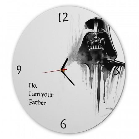 Ceas de perete - Darth Vader, 40 cm