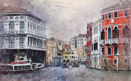 Tablou Venezia, 100x70cm