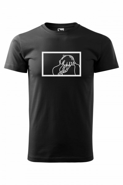 Tricou negru barbati, Meduza