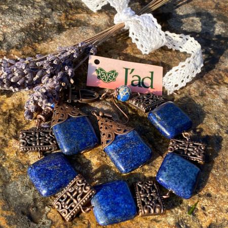 Legacy - set din lapis lazuli si jasp imperial (unicat)