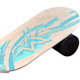 Balance Board cu cilindru, 74x38cm, Arrows