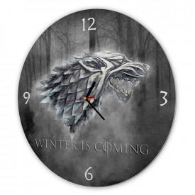 Ceas pentru fani, Winter is coming, 40cm