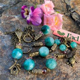 Wonderland - set din jad (unicat)