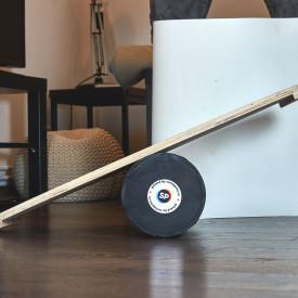 Balance Board cu cilindru, 74x38cm, Abstract Design