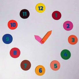 Sa invatam ceasul - joc magnetic