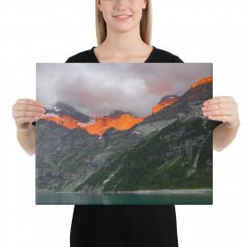 Tablou Canvas Lacul Oeschinen, 40x50cm